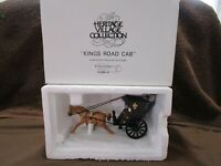 Dept 56 1989 Kings Road Cab / Heritage Village Collection