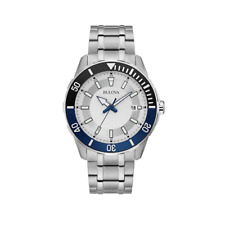 Bulova 44 mm Water-Resistant 100M Stainless Men's Watch