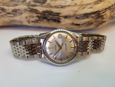 USED VINTAGE 1965 OMEGA SEAMASTER SILVER DIAL DATE AUTO CAL:562 MAN'S WATCH