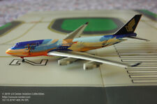 Dragon Wings Singapore Airlines Boeing 747-400 Tropical 9V-SPL Model 1:400