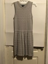 Romeo & Juliet Couture Junior Knit Dress, Gray, Sleeveless, Small