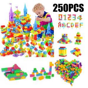 Children Kids DIY Plastic Creative Game Bricks Building Blocks Educational Toys