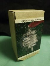 Hallmark 1993 Silver Dove of Peace Old-World Silver Showcase Christmas Ornament