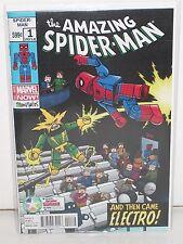 AMAZING SPIDER-MAN #1 - MiniMates Variant - 2014 DIAMOND RETAILER SUMMIT ONLY