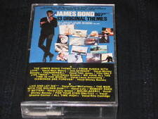 JAMES BOND 007 12 ORIGINAL THEMES CASSETTE TAPE BASSEY MCCARTNEY TOM JONES LULU