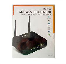 CS 2739 HAMLET WI-FI ADSL ROUTER 300 IEEE 802.11N WIRELESS MODEM 10/100 SWITCH