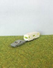 N Scale Car & Caravan