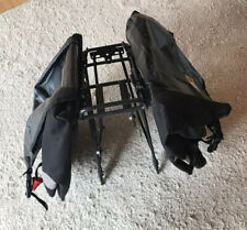 Wasserdichte Fahrrad Gepäckträgertaschen SL 55 Mainstream Elegance MSX schwarz