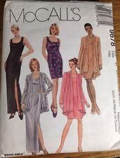 McCalls Ladies Dress & Jacket Sewing Pattern 22W-26W