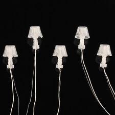 10pcs 1 25 Model Railway 3v LED Table Lamppost Desk Lamps Lights G Scale