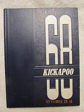 1968 Yearbook Owensville High School Kickapoo IN Kindergarten Thru 12th Grade