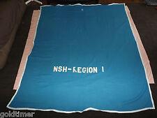 Vintage Nsh-Region I Fleece Horse Blanket Cooler