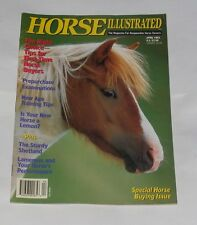 HORSE ILLUSTRATED APRIL 1992 - SPECIAL HORSE BUYING ISSUE