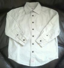 CHILDRENS LEVI'S STRAUSS LONG SLEEVE SHIRT SIZE XS 4/5 BEIGE YOUTH