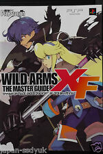Wild Arms XF the Master Guide official book OOP
