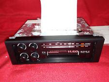 YUGO AMERICA ORIGINAL STEREO RADIO CAR CASSETTE PLAYER - AUTO STOP