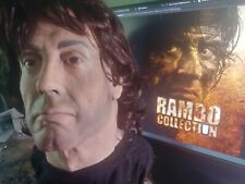 RAMBO ROCKY SYLVESTER STALLONE LIFE SIZE   resin BUST