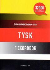 Norstedts Taschenwörterbuch Fickordbok Tysk-Svensk-Tysk,32.000 Wörter,schwedisch