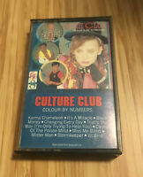 Culture Club Colour By Numbers Cassette Tape Virgin Epic Boy George