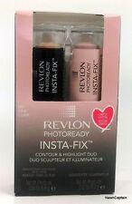 Revlon Photoready Insta-Fix Contour & Highlighing Duo  Fair 001  Lmt Edition