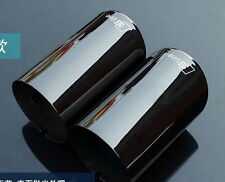 2 pcs.exhaust pipe covers for AUDI Q5  A4 B8 Yr, 2009- 2014 muffler tip decor