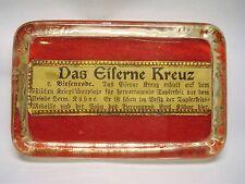 MEDAL GERMAN  WW1 IRON CROSS COMMEMORATIVE GLASS DISPLAY / PAPERWEIGHT