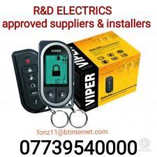 Viper LCD pager Car alarm+ Remote Start 5304v