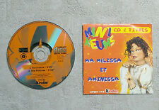 "CD AUDIO MUSIQUE / MINIKEUMS ""MA MÉLISSA ET AMINESSA"" CDS PROMO PUB KINDER 2T"