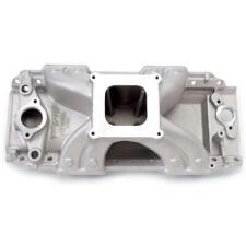 Edelbrock Intake Manifold 2902 Victor Jr Rectangular Port Aluminum For Bbc