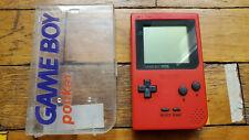 Nintendo GAME BOY POCKET rot inkl. Case guter Zustand