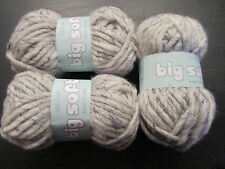 "BN Sirdar ""Big Softie"" ""Wispy"" Super Chunky Yarn x 3 Balls Craft Room Clearout"