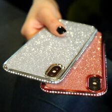 Luxury Shockproof Bling Glitter Silicone Case Cover For iPhone 7 Plus XS Max 6 8