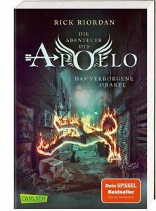 Die Abenteuer des Apollo: Das verborgene Orakel von Rick Riordan