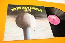 VAN DER GRAAF GENERATOR LP 68 71 PREMIÈRE ST ORIG UK 1972 PINK LABEL A-1U/B-1U