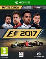 F1 2017 - Special Edition  XBOX ONE Mint quick dispatch