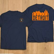 New POLICE Department Detroit Automotive Capital Of the World  T-Shirt