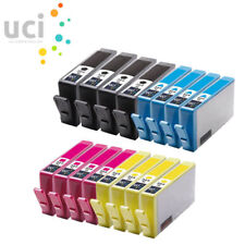 16 UCI® Ink Cartridge fit for HP 364XL Photosmart 5510 3520 5520 5524 7510 b110a
