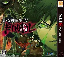Shin Megami Tensei IV FINAL ATLUS NINTENDO 3DS JAPANESE  JAPANZON COM