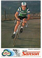 RENATO MARCHETTI SANSON CICLISMO CYCLISME CYCLING BICICLETTA