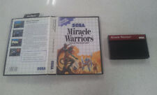 Miracle Warriors Seal of the Dark Lord Sega Master System Game PAL