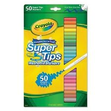 Crayola Washable Super Tips Markers with Silly Scents Assorted Colors 50ct