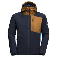 Jack Wolfskin Softshelljacke 365 Millenium Jacket Herren night sky blue Gr S NEU