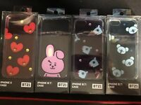 *USA* OFFICIAL BTS BT21 Phone Case IPHONE 7, 8, X CHIMMY TATA SHOOKY KOYA COOKY