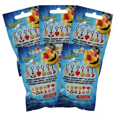 Fun 2 Play Toyz - Emoji Hang'emz Figure Clips - Blind Packs (5 Pack Lot) - New