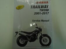 2001 2002 2003 2004 YAMAHA TW200 TRAILWAY TW 200 Owners Service Repair Manual