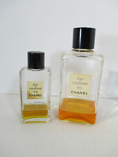 Chanel No 5 Perfume Vintage 2 Bottles Made in USA Mothers Day Beautiful Smell