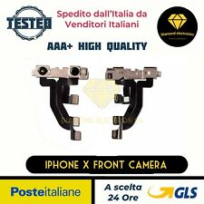 🔝 Fotocamera Anteriore Frontale Sensore Face ID Camera Flex Apple iPhone X Flat