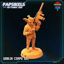 "Cyberpunk ""Goblin Corpo"" Papsikels   28mm-35mm   DnD   RPG   Tabletop   Boneshop"