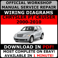 # OFFICIAL WORKSHOP Repair MANUAL for CHRYSLER PT CRUISER 2000-2010 WIRING #