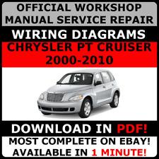 # OFFICIAL WORKSHOP Repair MANUAL for CHRYSLER PT CRUISER 2000-2010 WIRING #